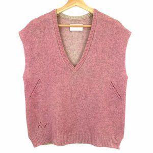Zadig et Voltaire Pink 100% Cashmere Sweater Vest